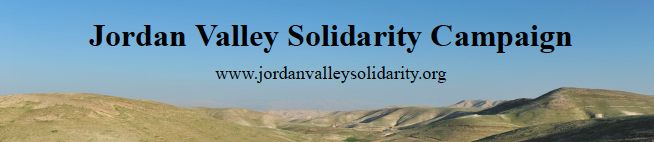 Jordan Valley Solidarity Campaign