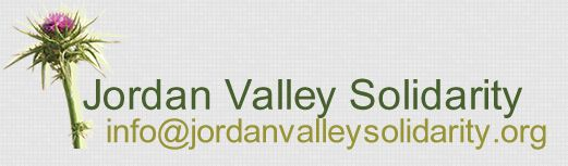 Jordan Valley Solidarity Campaign JVS